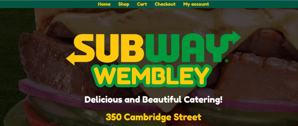 Subway Wembley
