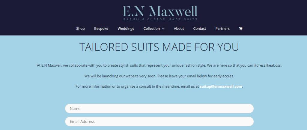 E.N Maxwell